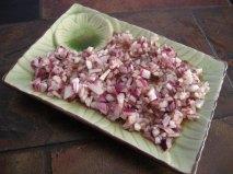 Relish d'oignon mariné