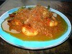 Crevettes à la sauce tomates – udang goreng asam pedas