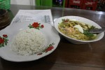 Soupe au poulet java est – soto jawa timur